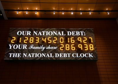 National Debt Clock, New York City(photo 1)