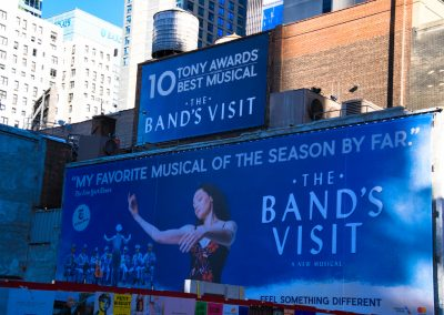 The Bands Visit Sign, New York City